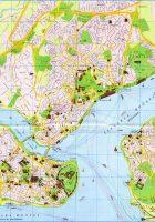 istanbul city map big