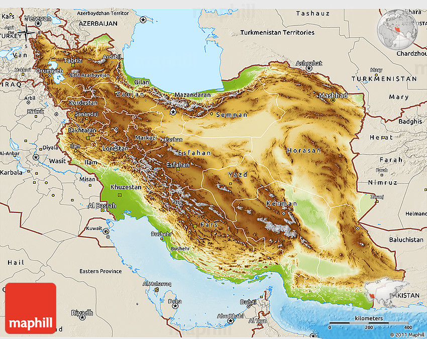 physical-3d-map-of-iran-shaded-relief-outside