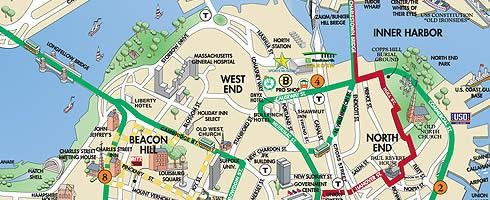 map of boston Map Pictures
