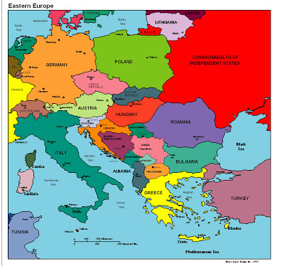 Europe map images