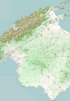 Map of Majorca