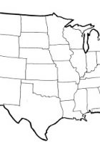 USA Map America Maps Satellite Images Of USA - Usa maps blank