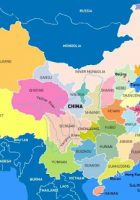 Map of China – Satellite Images of China