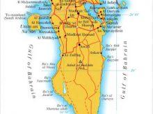 Map of Bahrain Map Region