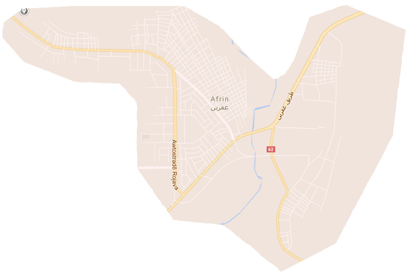 map of afrin