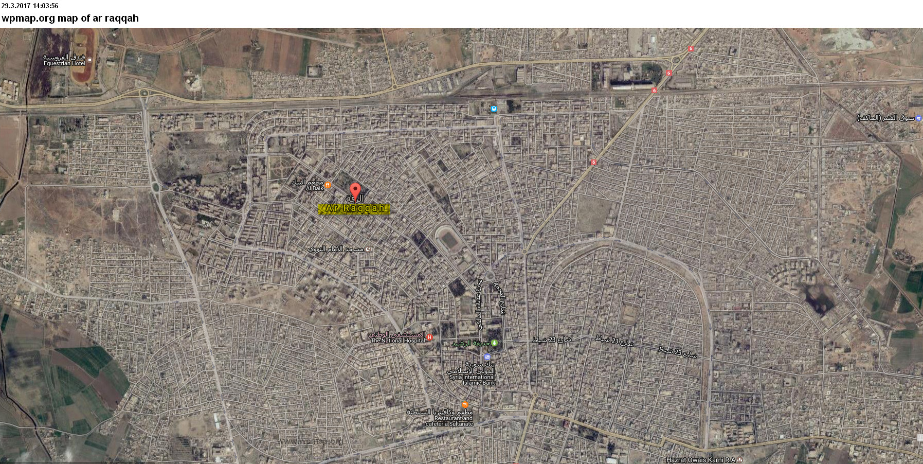 map of arraqqah Map Pictures