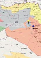 Iraq civil map