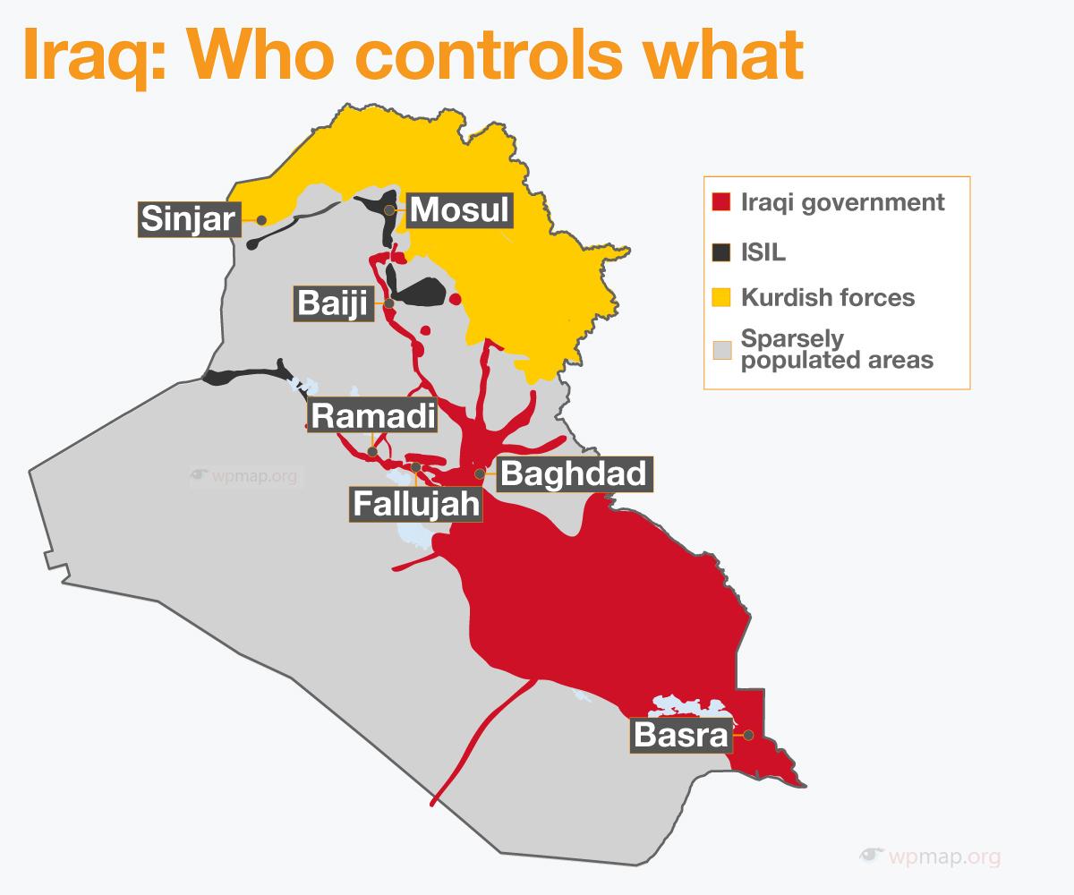 Kirkuk War Map