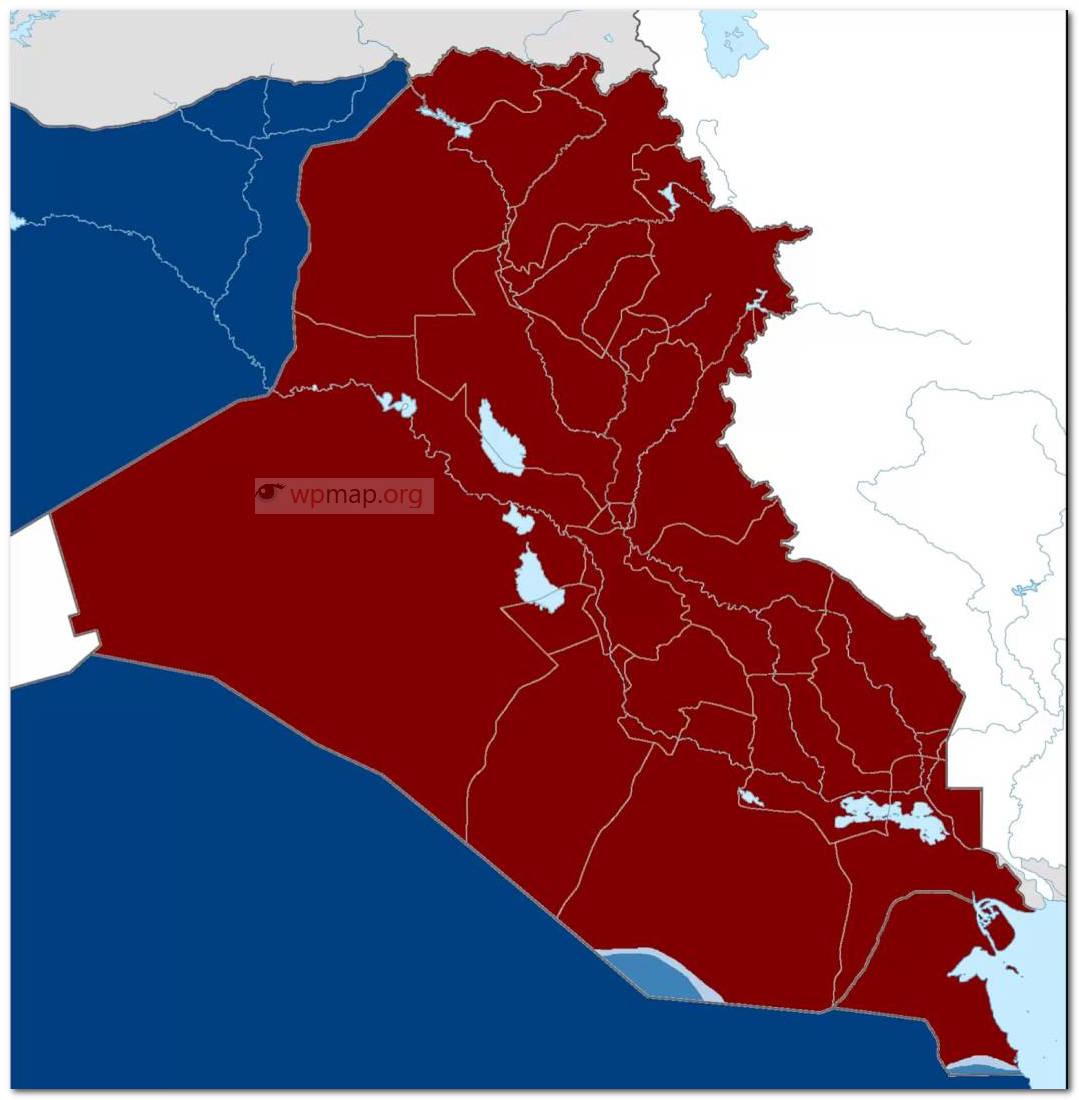 Kurdistan War Map