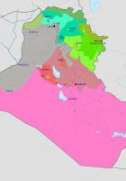 iraq war map