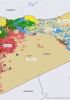 war in iraq detailed map