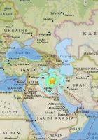 Sulaymaniyah earthquake map