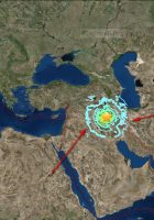 Sulaymaniyah Earthquake Map – Map of sulaymaniyah – Map of Sulaymaniyah Iraq