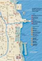 chicago downtown map